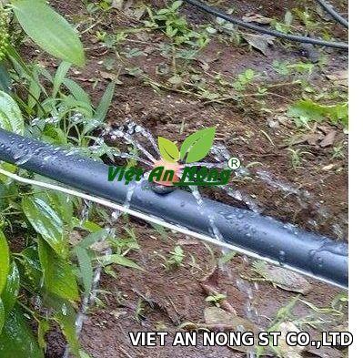 dây ldpe phi 16mm dùng dẫn nước trong tưới nhỏ giọt